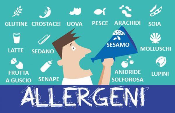 Come mettersi in regola con il libro ingredienti e allergeni