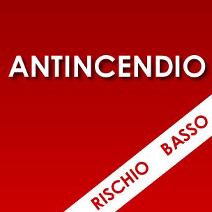 Corso ANTINCENDIO<em>Rischio basso</em>