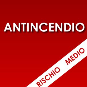 Corso ANTINCENDIO<em>Rischio medio</em>