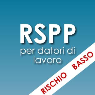 Corso RSPP per datori di lavoro <em>Rischio basso</em>
