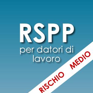 Corso RSPP per datori di lavoro <em>Rischio medio</em>